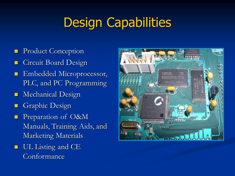 Design Capabilities Product Conception Circuit Board Design
