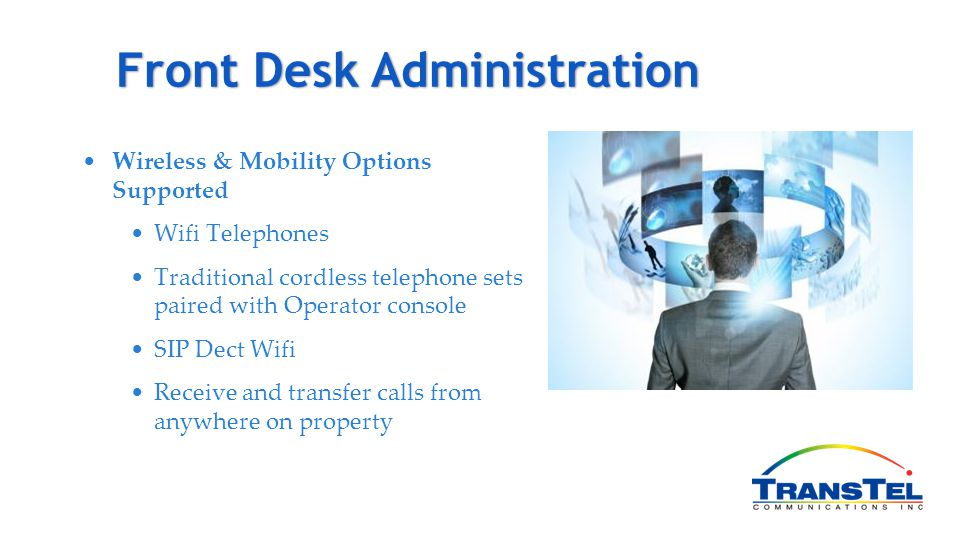 Front Desk Administration