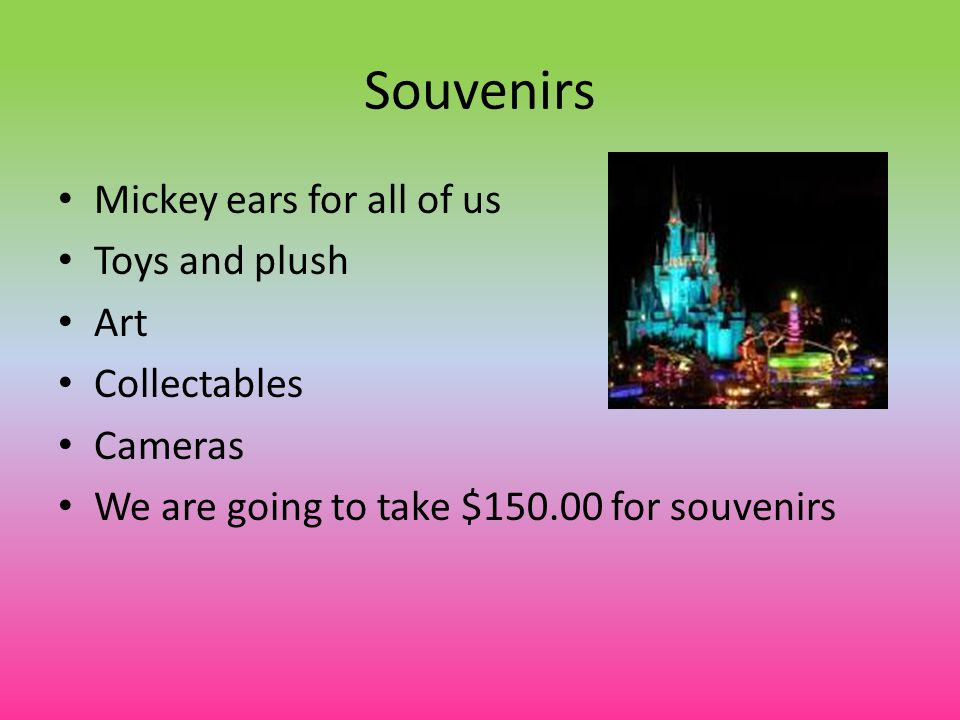 Souvenirs Mickey ears for all of us Toys and plush Art Collectables