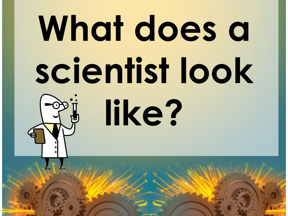What does a scientist look like
