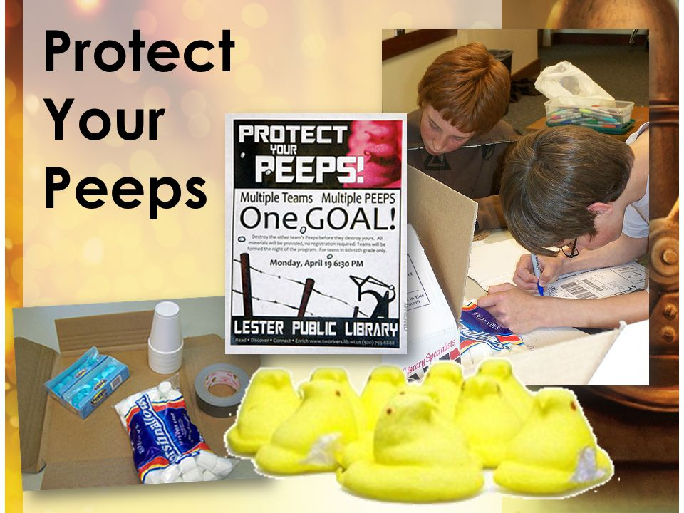 Protect Your Peeps