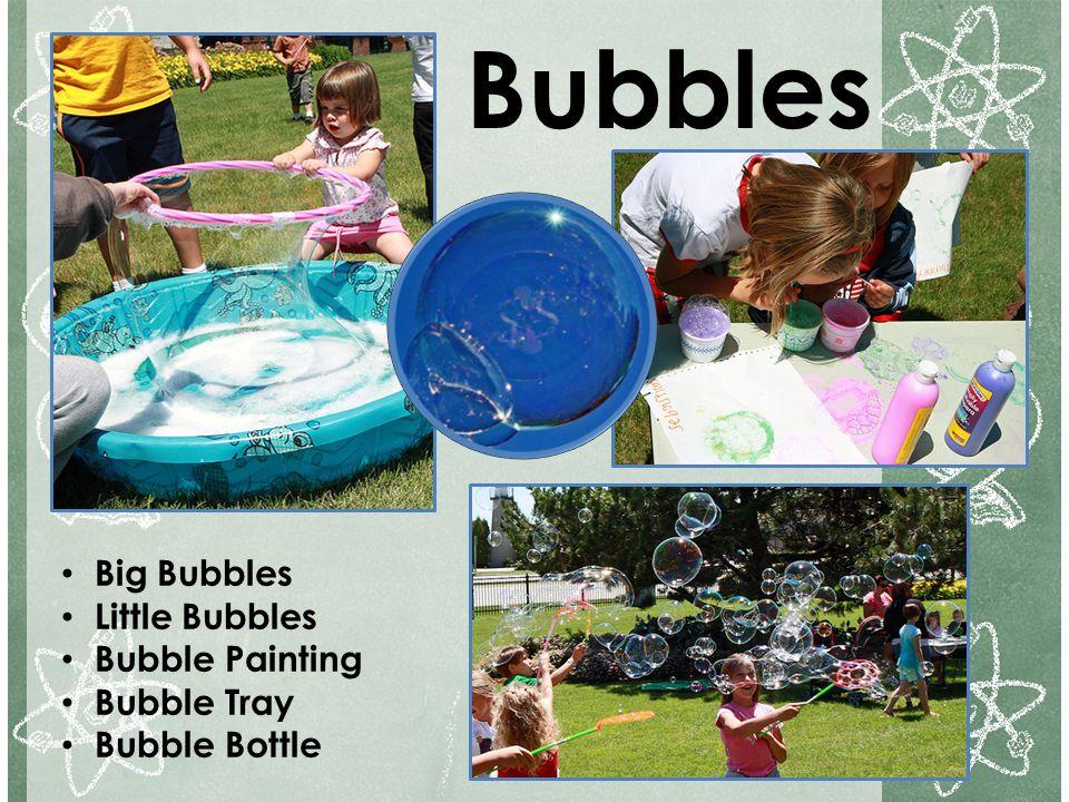 Bubbles Big Bubbles Little Bubbles Bubble Painting Bubble Tray
