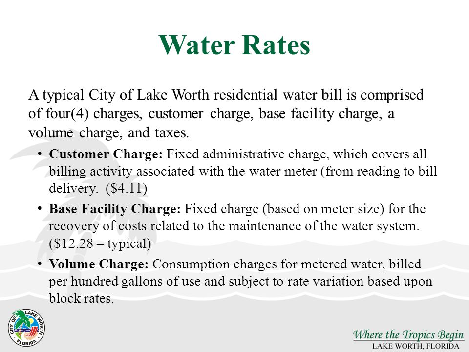 Water Rates