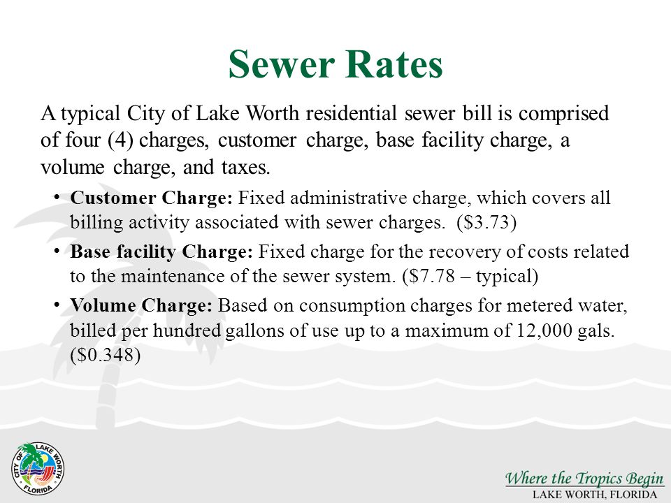 Sewer Rates