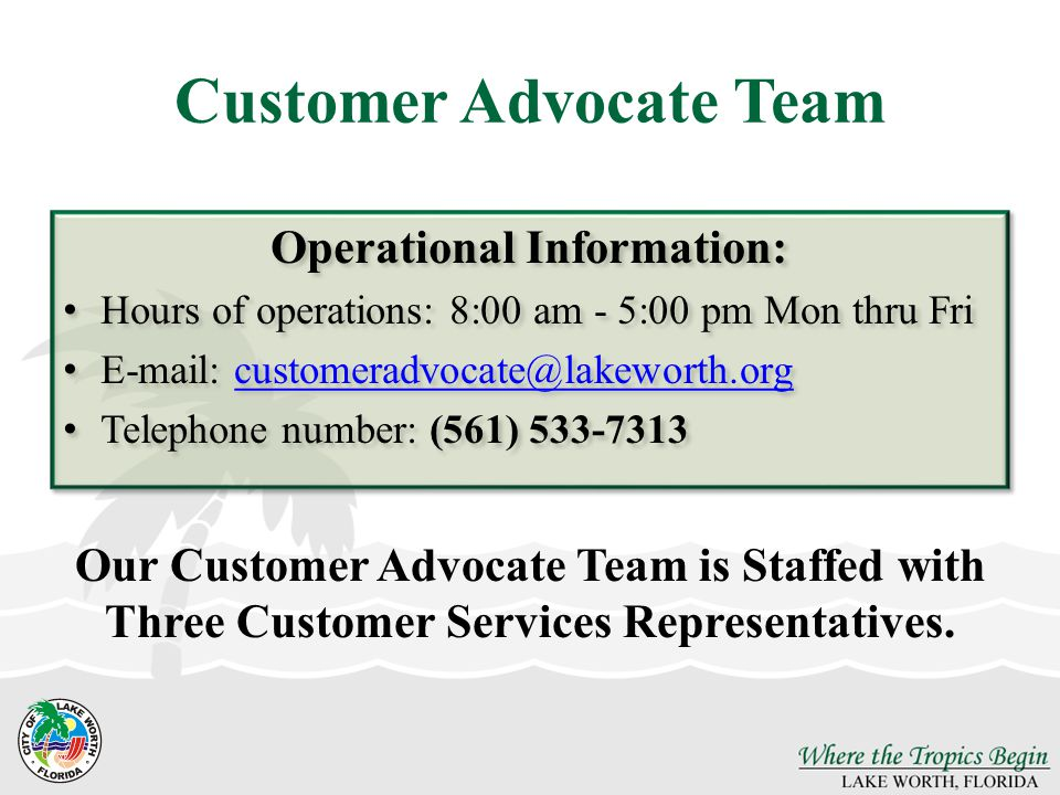 Customer Advocate Team