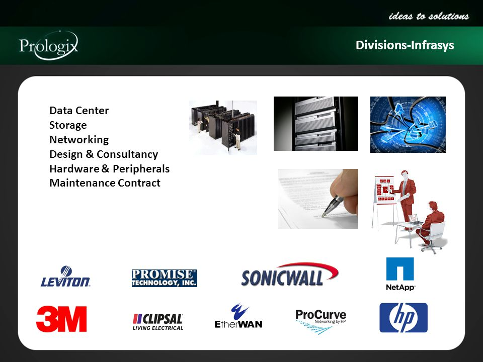 Divisions-Infrasys Data Center Storage Networking Design & Consultancy