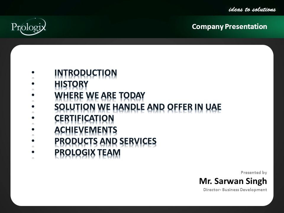 Solution we handle and offer in UAE Certification Achievements