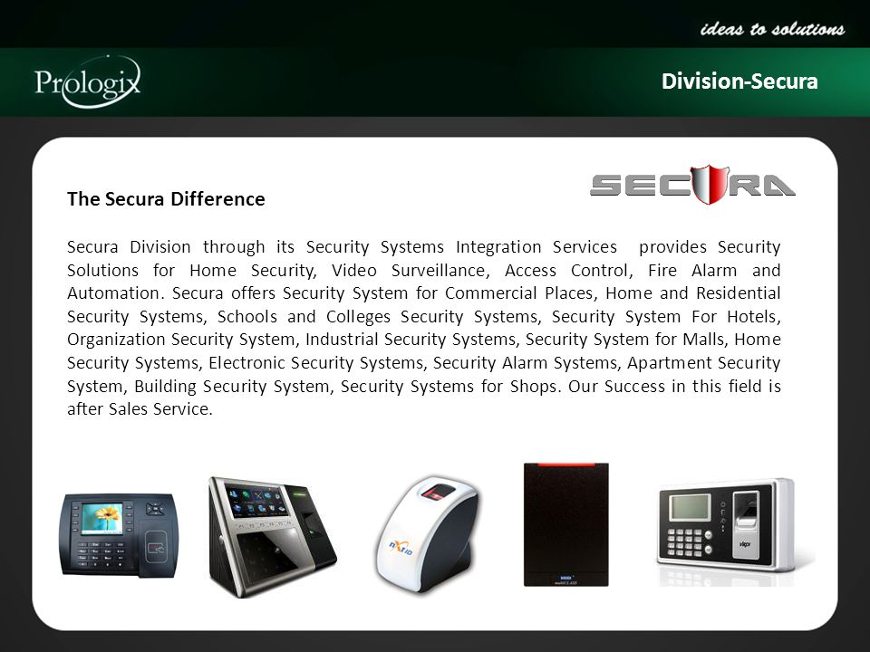 Division-Secura The Secura Difference