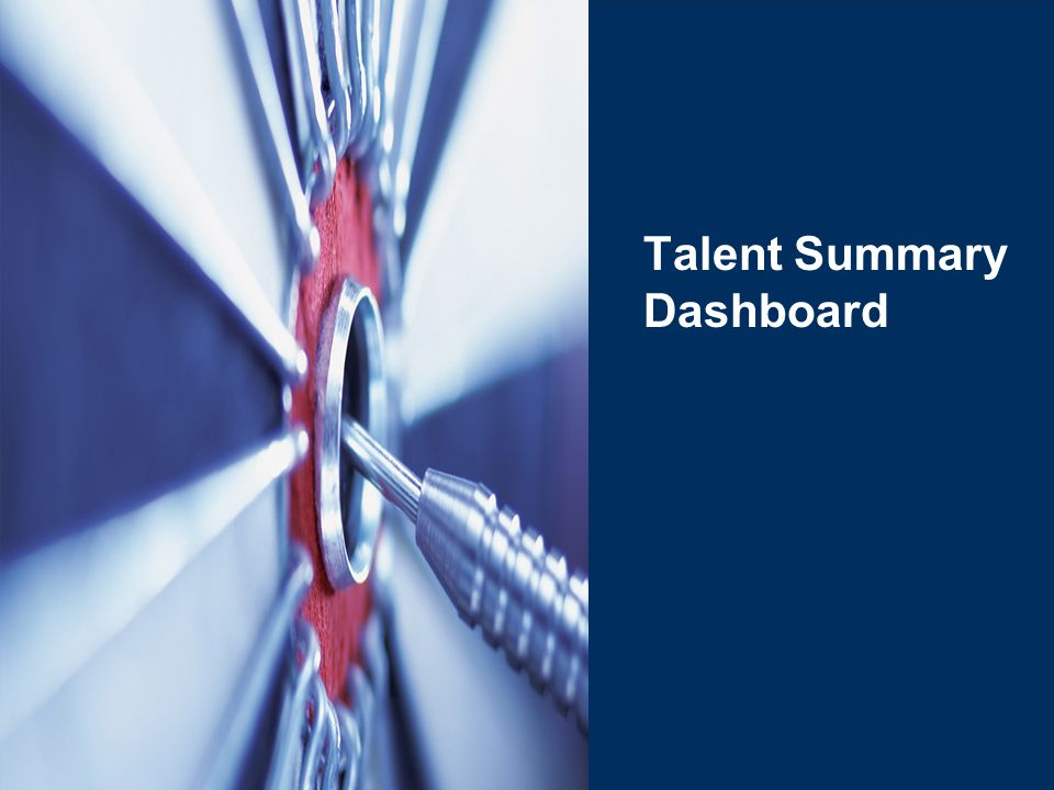 Talent Summary Dashboard