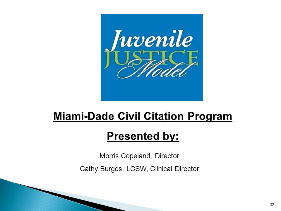 Miami-Dade Civil Citation Program