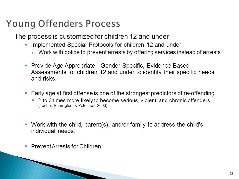 Young Offenders Process