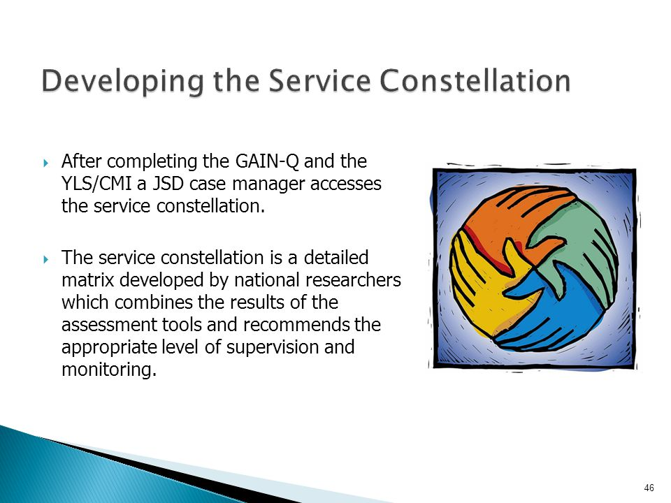 Developing the Service Constellation