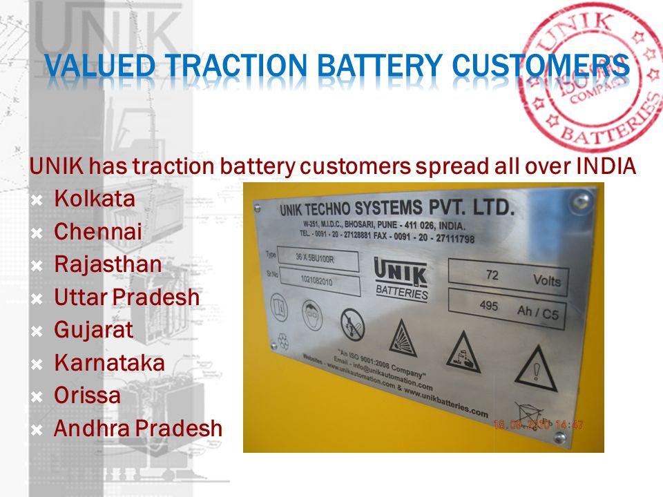 Valued Traction Battery Customers