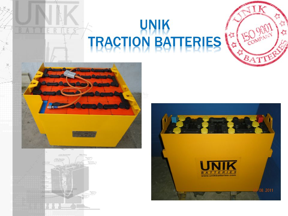 UNIK Traction Batteries