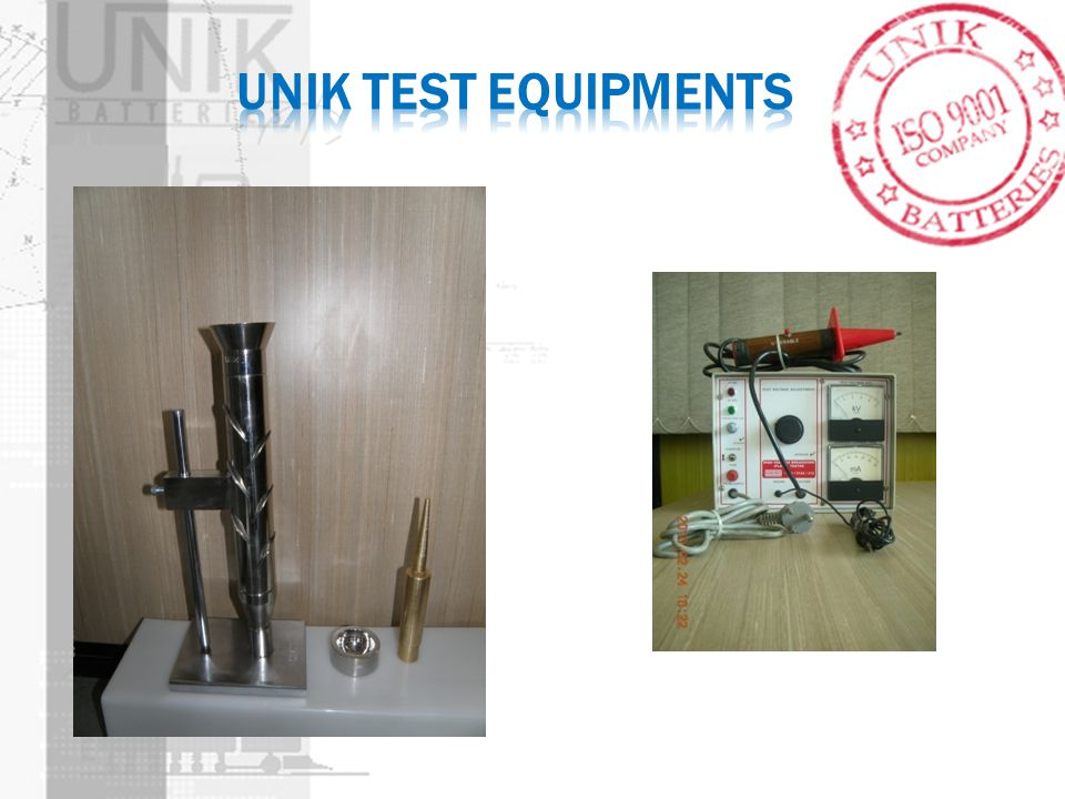 Unik TEST EQUIPMENTS