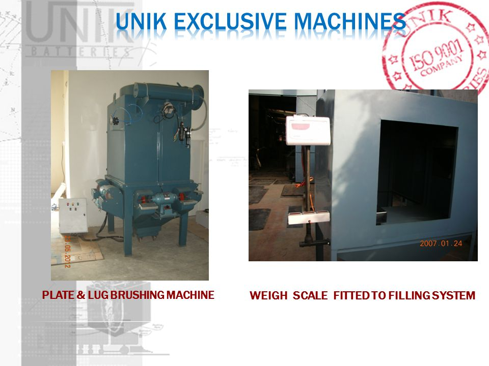 Unik EXCLUSIVE MACHINES