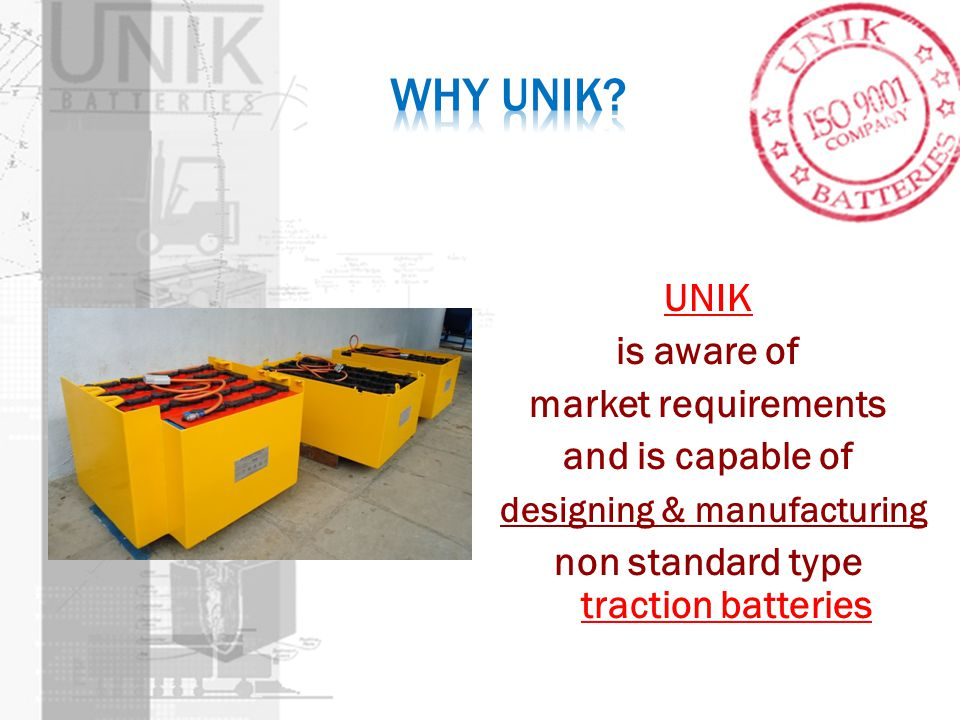 Why UNIK.