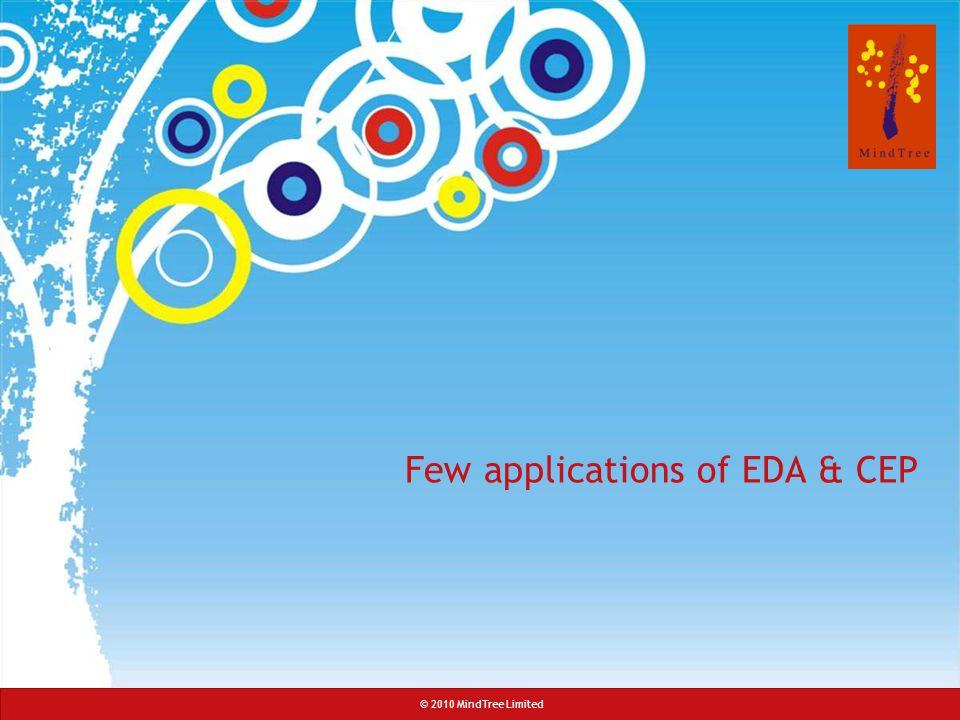 Few applications of EDA & CEP