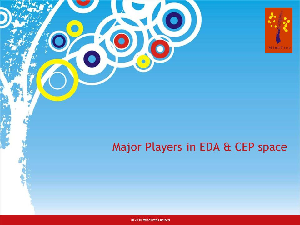 Major Players in EDA & CEP space