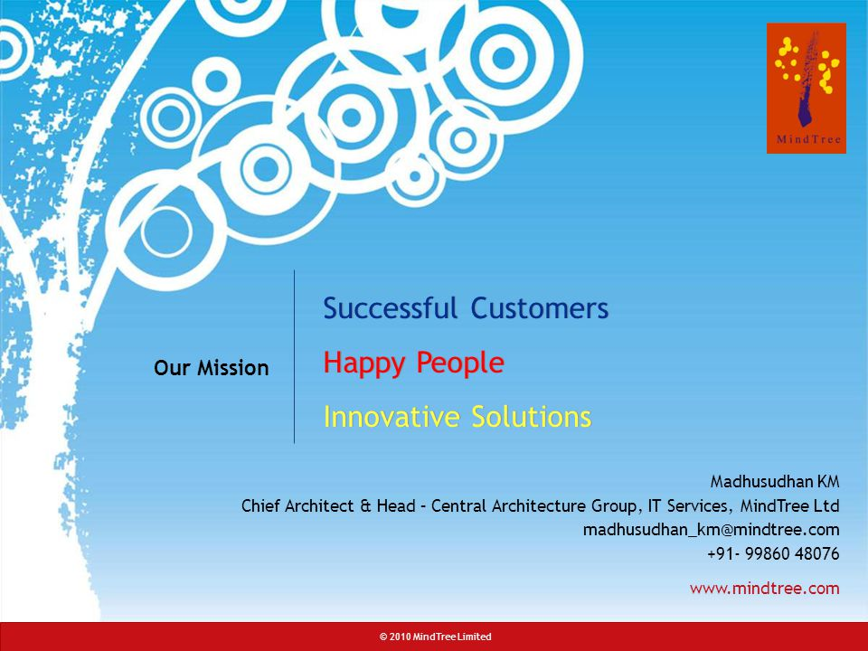 Successful Customers Happy People Innovative Solutions Our Mission