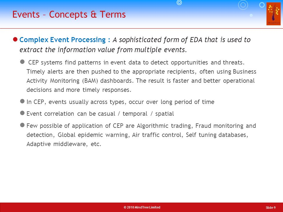 Events – Concepts & Terms