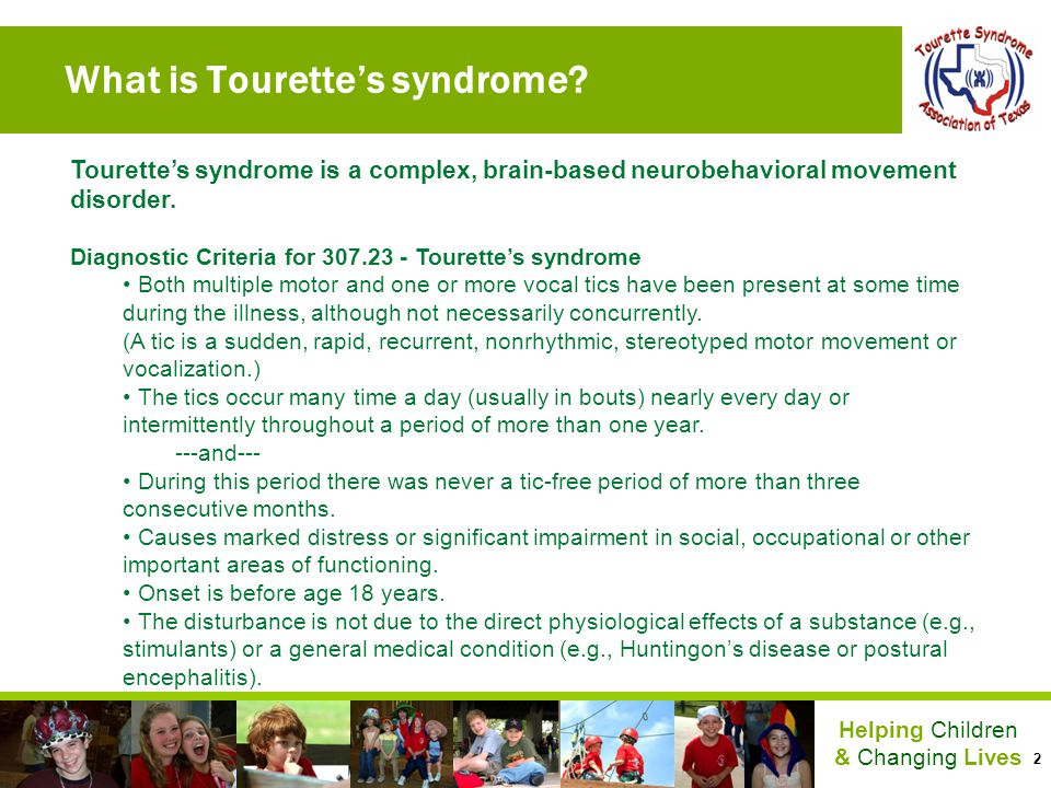 What is Tourette's syndrome