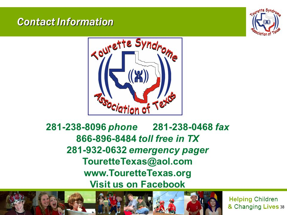 Contact Information 281-238-8096 phone 281-238-0468 fax. 866-896-8484 toll free in TX. 281-932-0632 emergency pager.