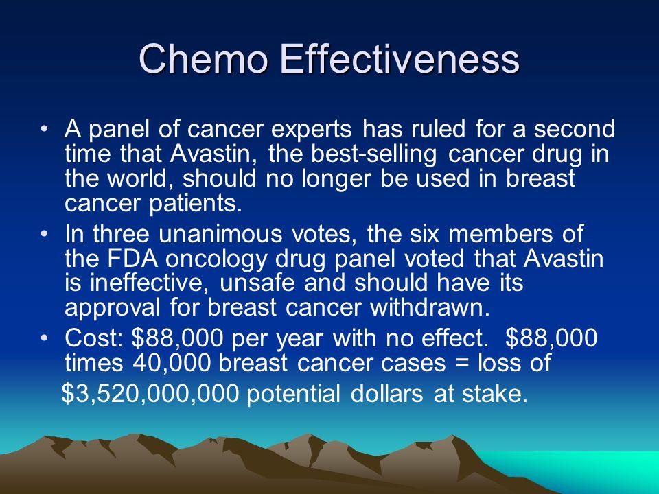 Chemo Effectiveness