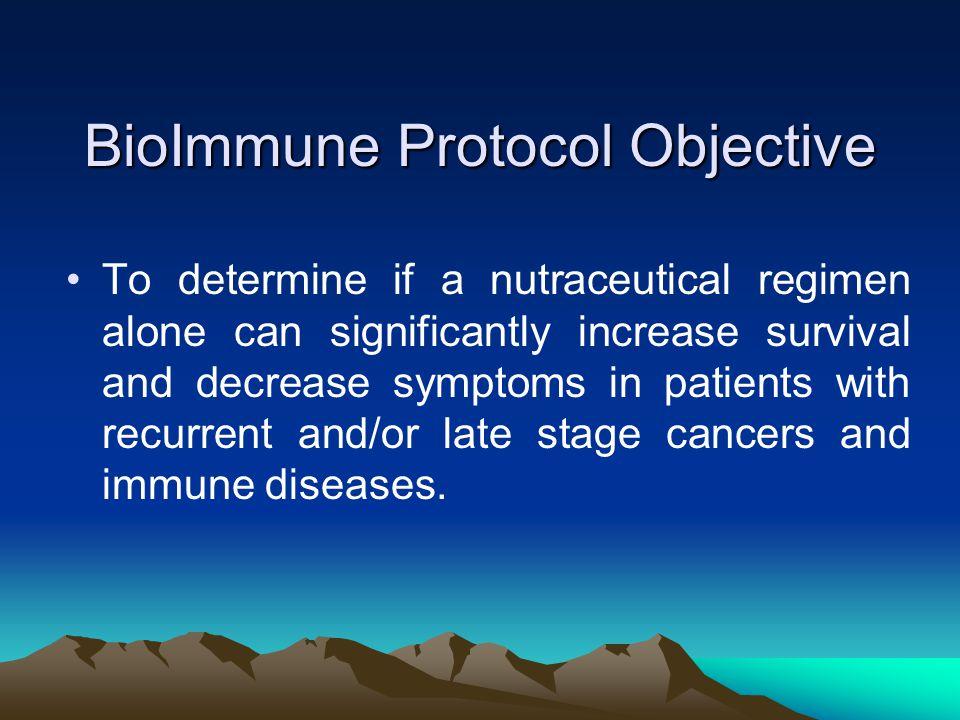 BioImmune Protocol Objective