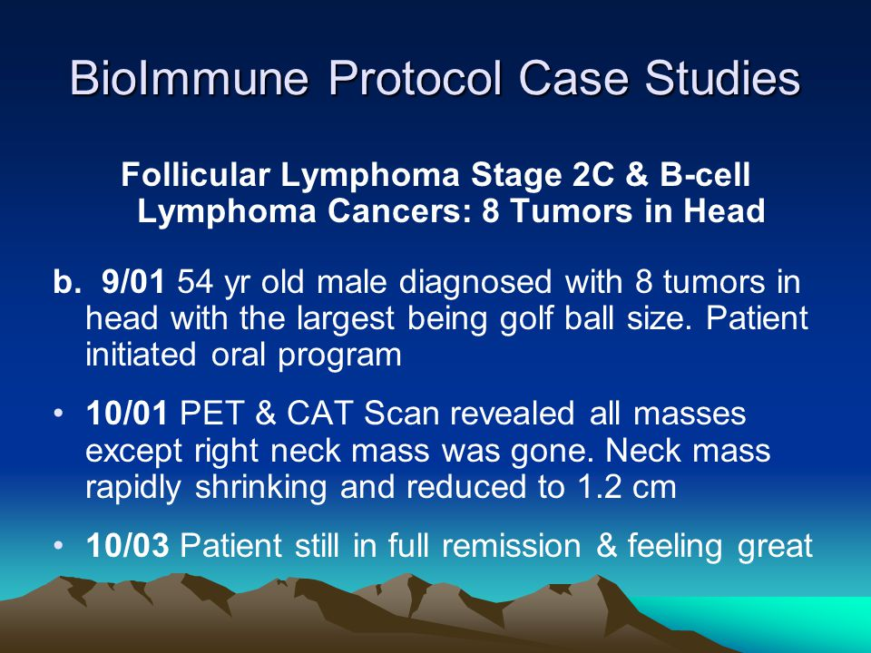 BioImmune Protocol Case Studies
