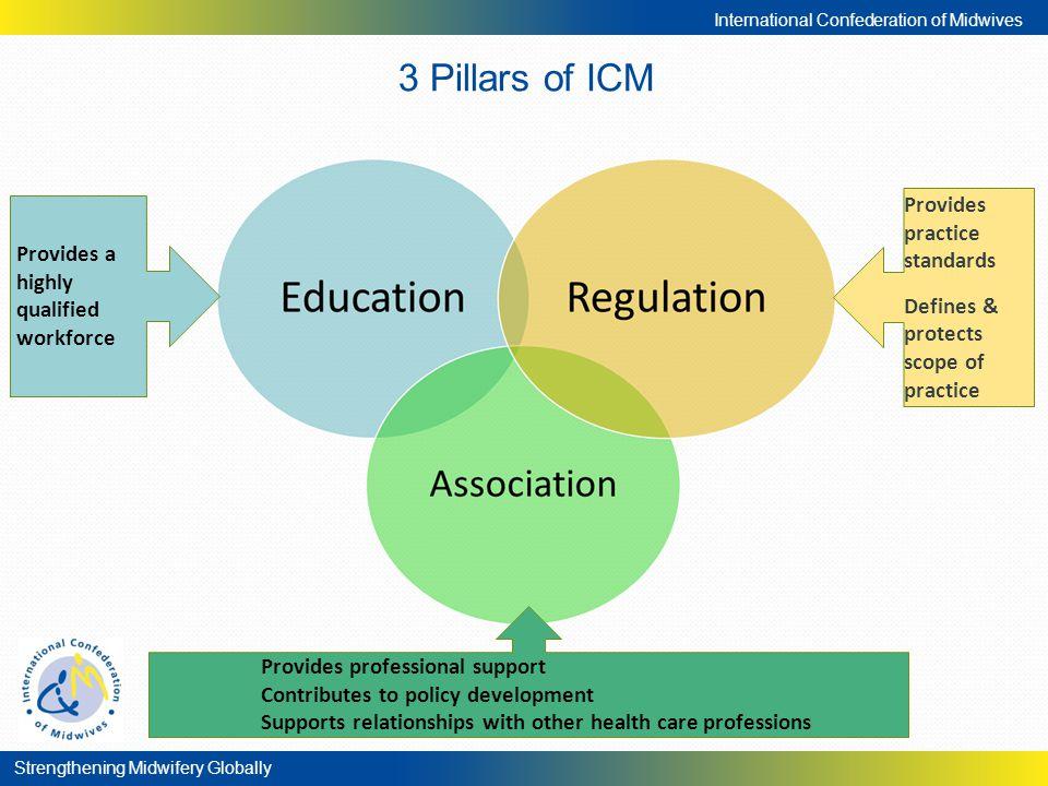 3 Pillars of ICM Provides practice standards