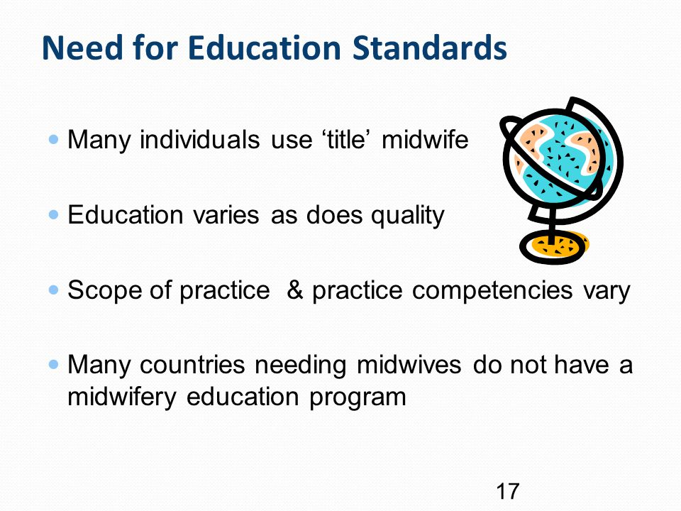 Need for Education Standards