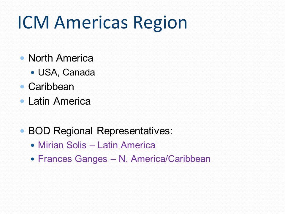 ICM Americas Region North America Caribbean Latin America
