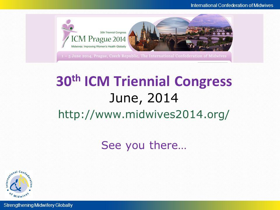 30th ICM Triennial Congress