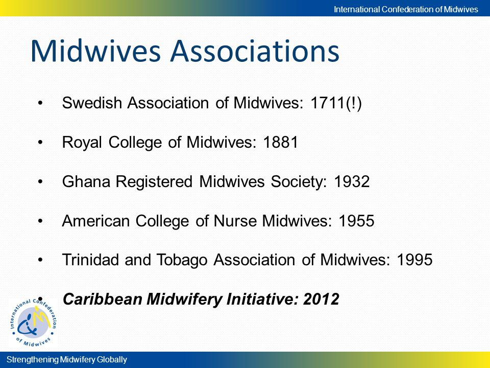 Midwives Associations