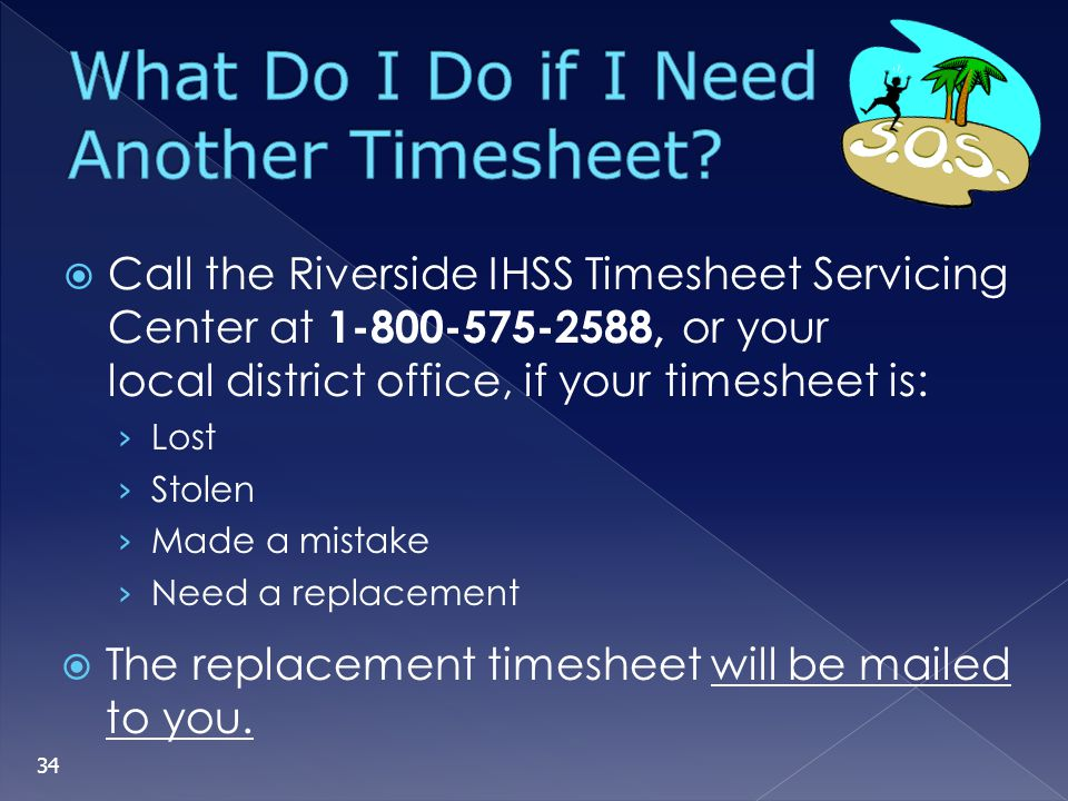 What Do I Do if I Need Another Timesheet