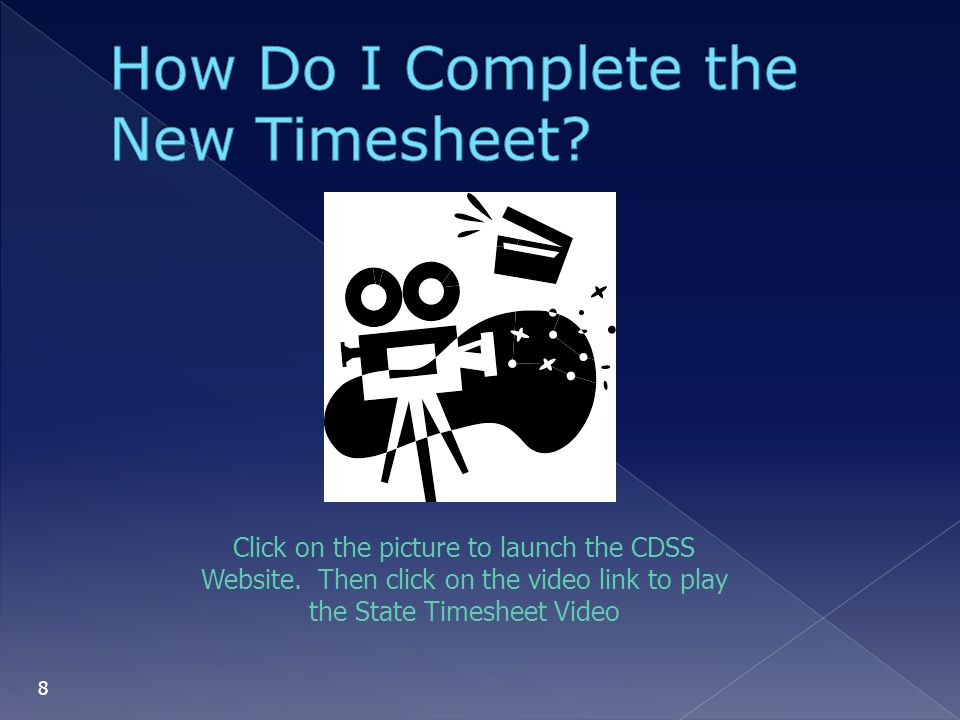 How Do I Complete the New Timesheet