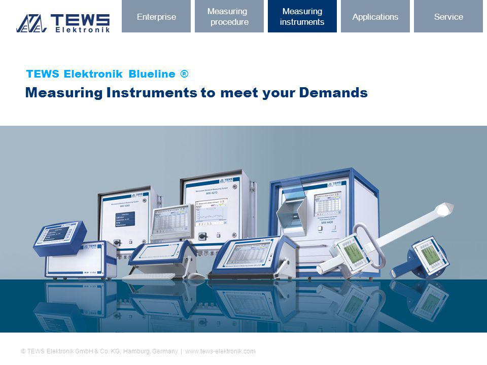 Measuring Instruments to meet your Demands