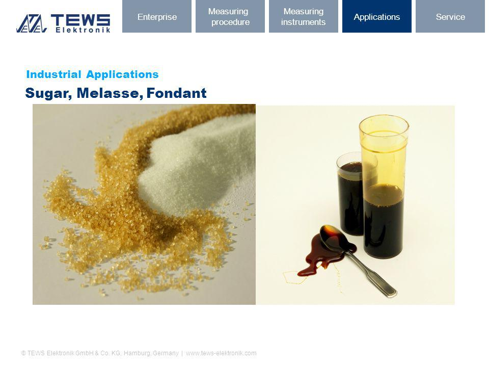 Sugar, Melasse, Fondant Industrial Applications Enterprise Measuring