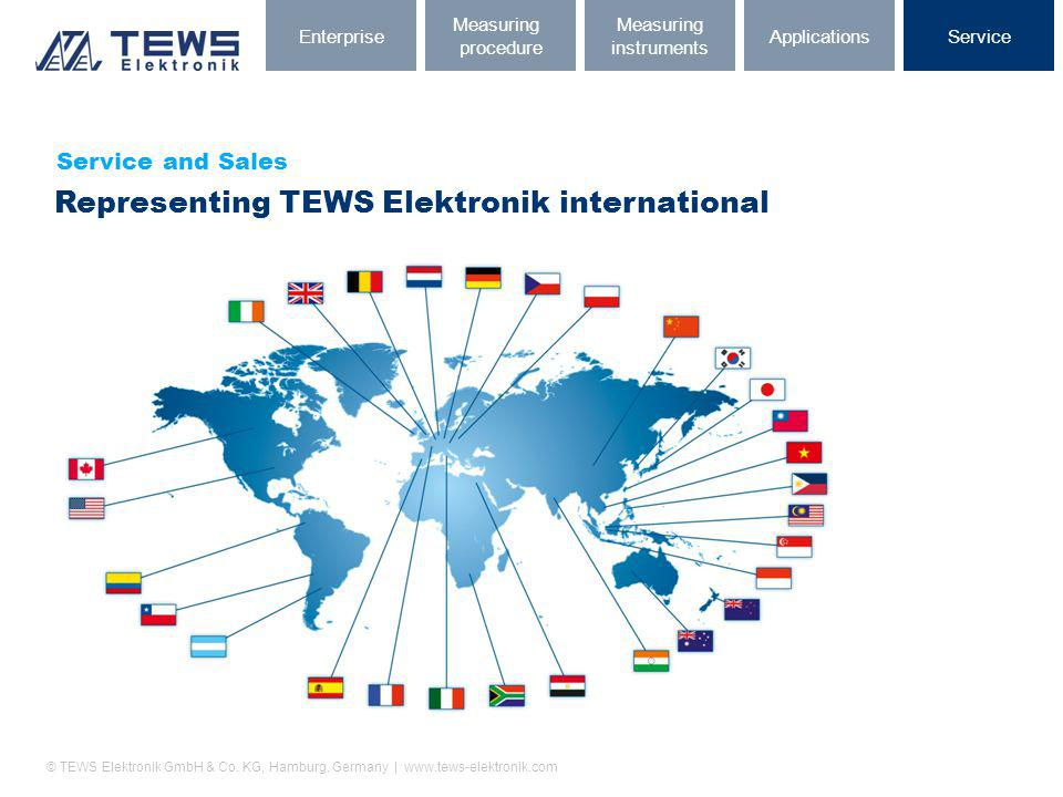 Representing TEWS Elektronik international