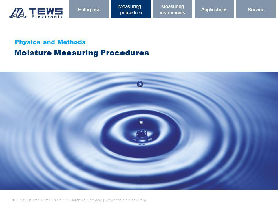 Moisture Measuring Procedures