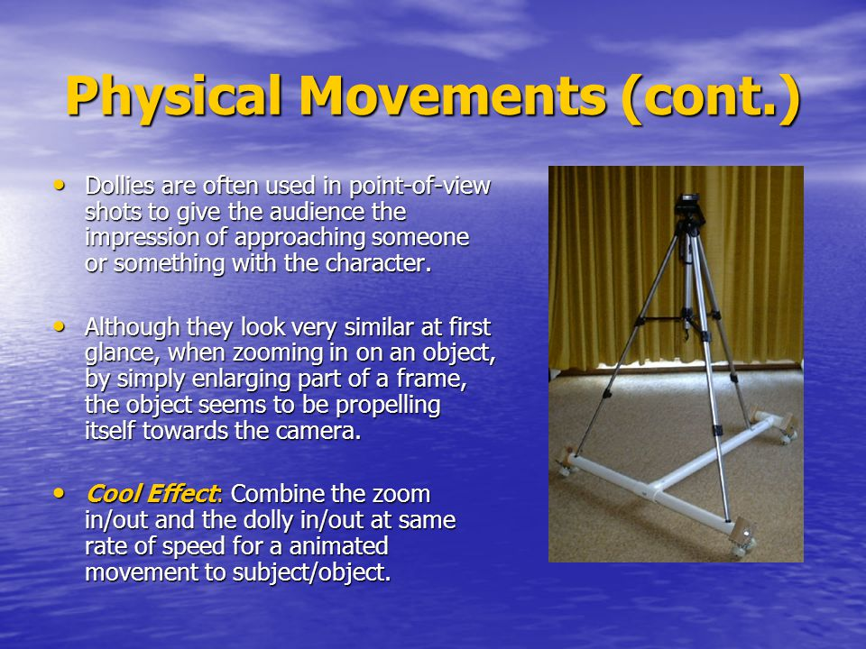 Physical Movements (cont.)