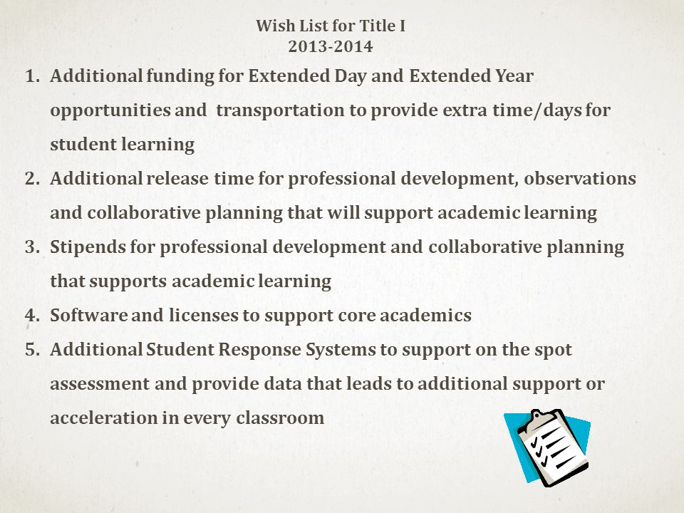 Software and licenses to support core academics