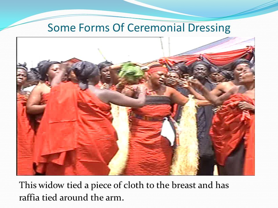 Some Forms Of Ceremonial Dressing