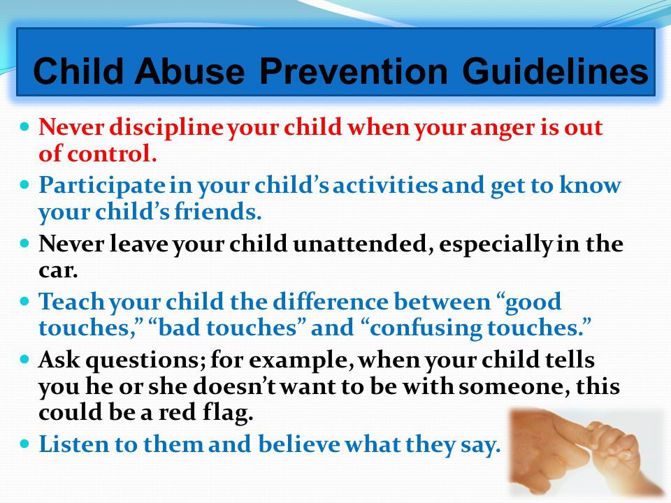 Child Abuse Prevention Guidelines