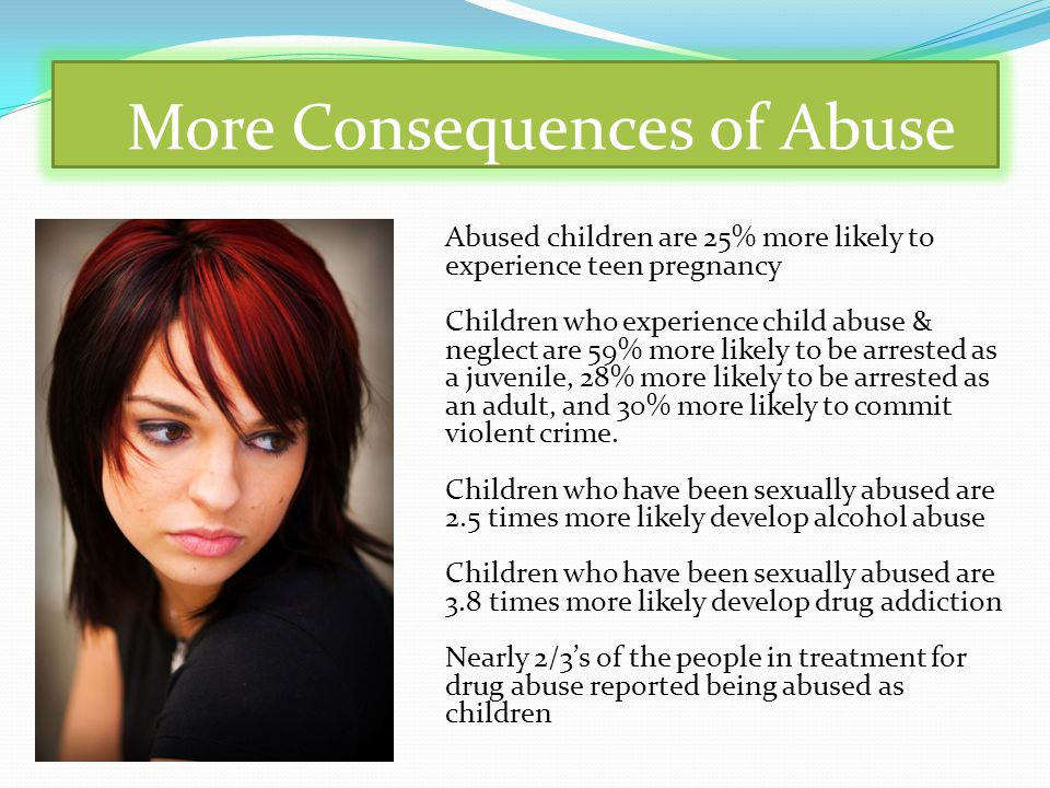 More Consequences of Abuse