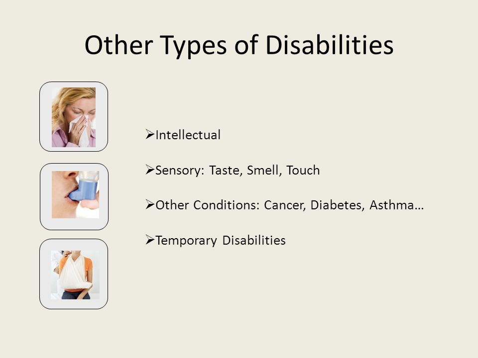 Other Types of Disabilities
