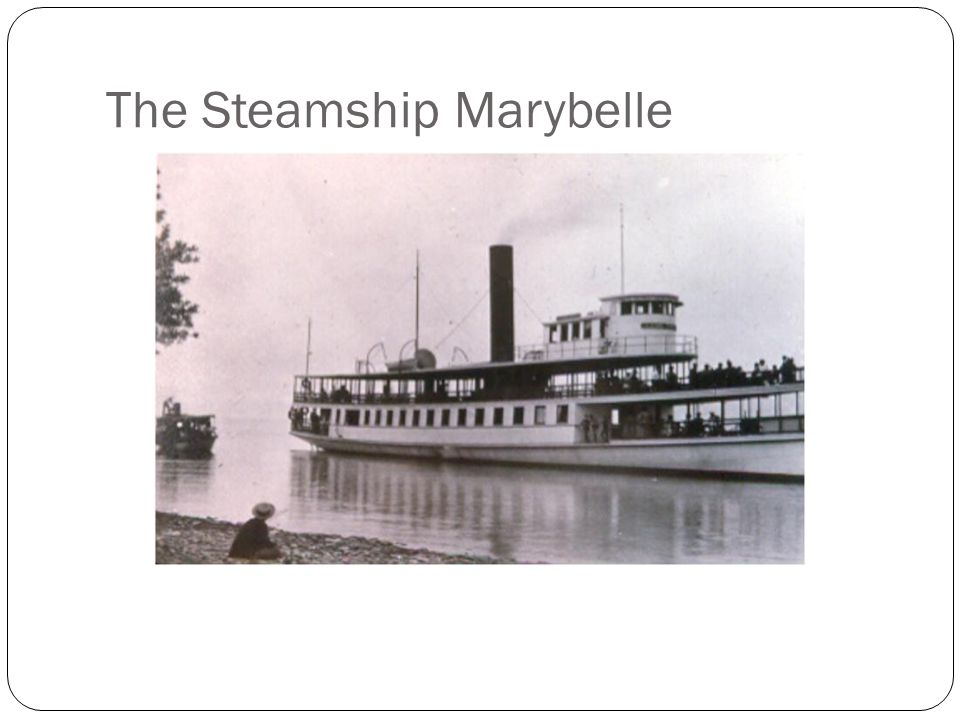 The Steamship Marybelle