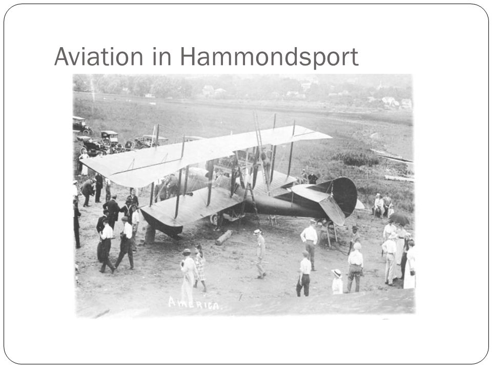 Aviation in Hammondsport