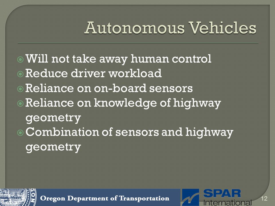 Autonomous Vehicles Will not take away human control